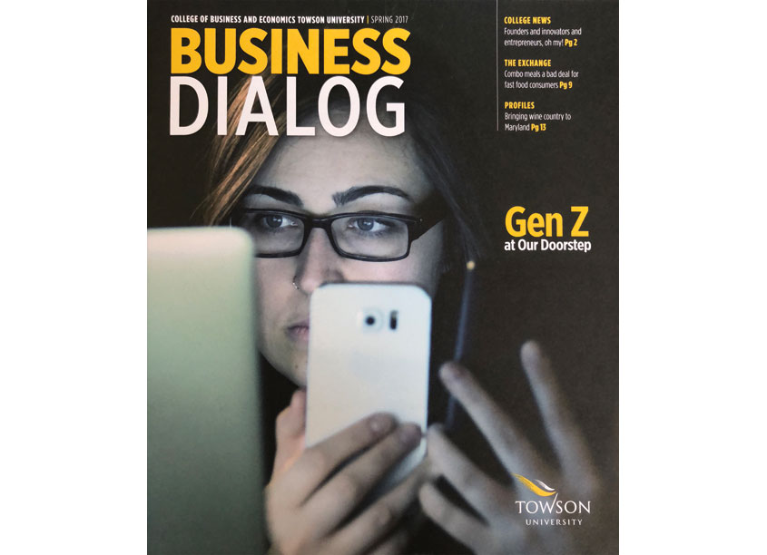 Towson University Creative Services, The Redesigned Business Dialog