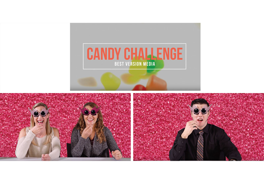 Best Version Media Halloween Candy Challenge Internal Culture Campaign