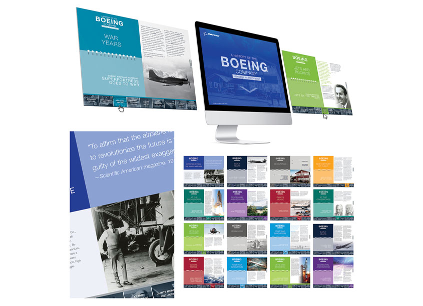 The Boeing Company Boeing History Chronology
