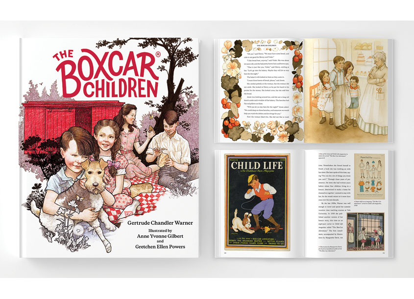 The Boxcar Children Fully Illustrated Edition by Albert Whitman & Company