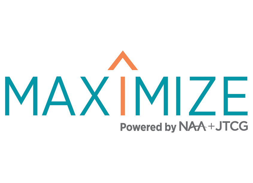 Maximize Conference Logo by National Apartment Association