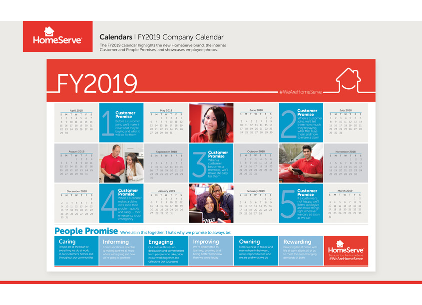 HomeServe Corporate Calendar  by HomeServe USA