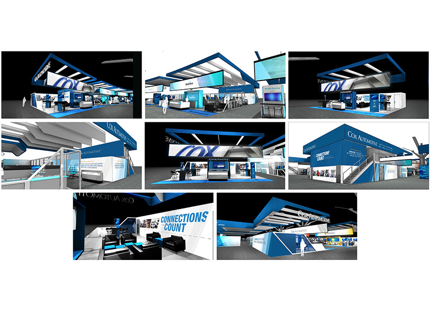 Cox Automotive NADA Booth Design and Collateral