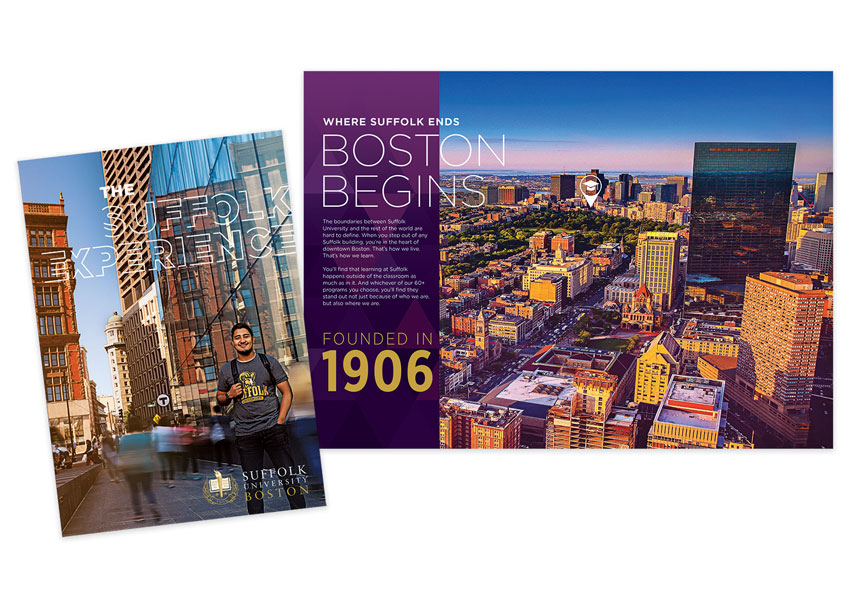 Suffolk University Suffolk Experience Brochure