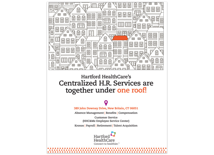 Hartford HealthCare John Downey Drive Open House Invitation