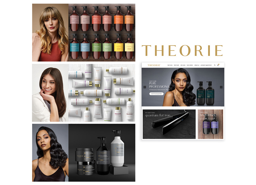 HauteHouse Brands Theorie Haircare Brand Refresh