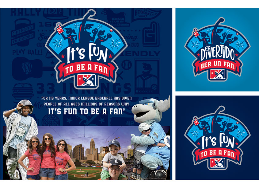 It's Fun to be a Fan Campaign by Minor League Baseball (MiLB)