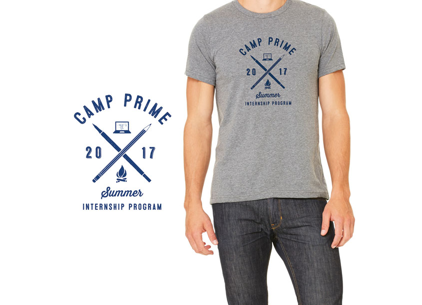 Camp Prime: Summer Internship T-Shirt Graphic by Prime Therapeutics