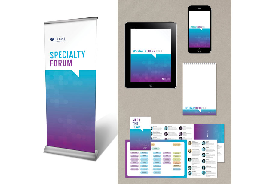 Specialty Forum Event Identity by Prime Therapeutics