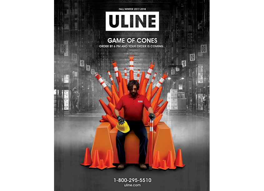 ULINE Creative Department Game of Cones Catalog