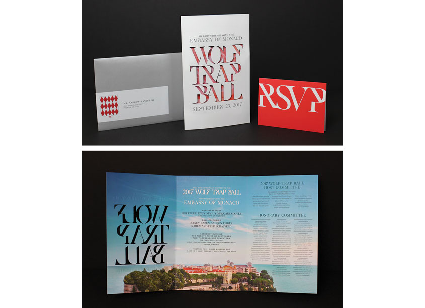 Wolf Trap 2017 Ball Invitation by Wolf Trap Creative