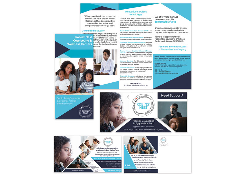 Robins' Nest Counseling & Wellness Centers Campaign by Robins' Nest