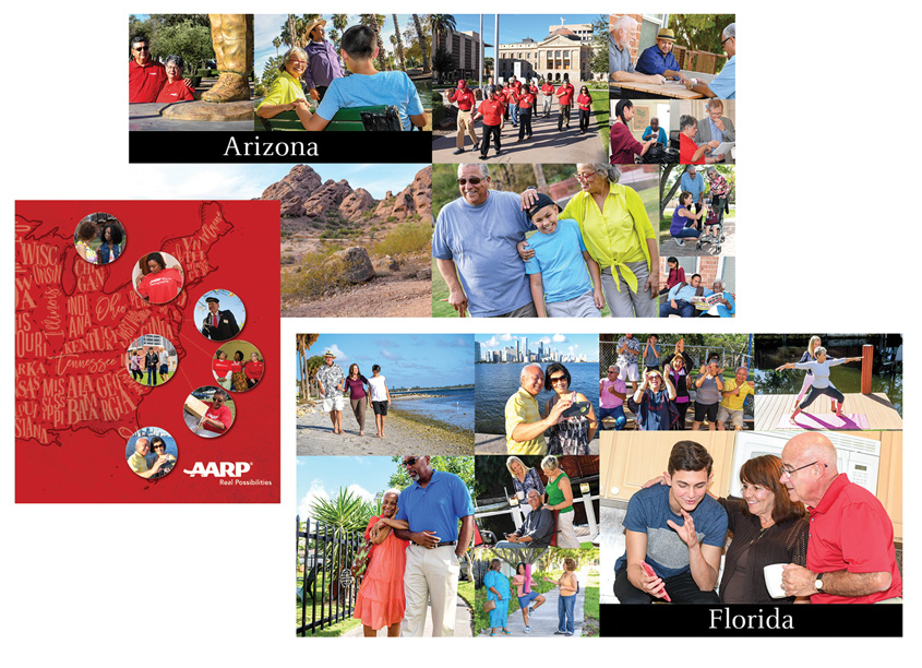 AARP Local Photography Booklet by AARP Brand Creative Services