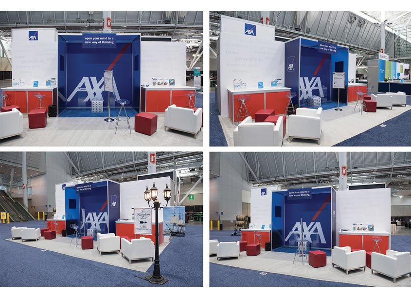 AXA LPL Financial Tradeshow Booth