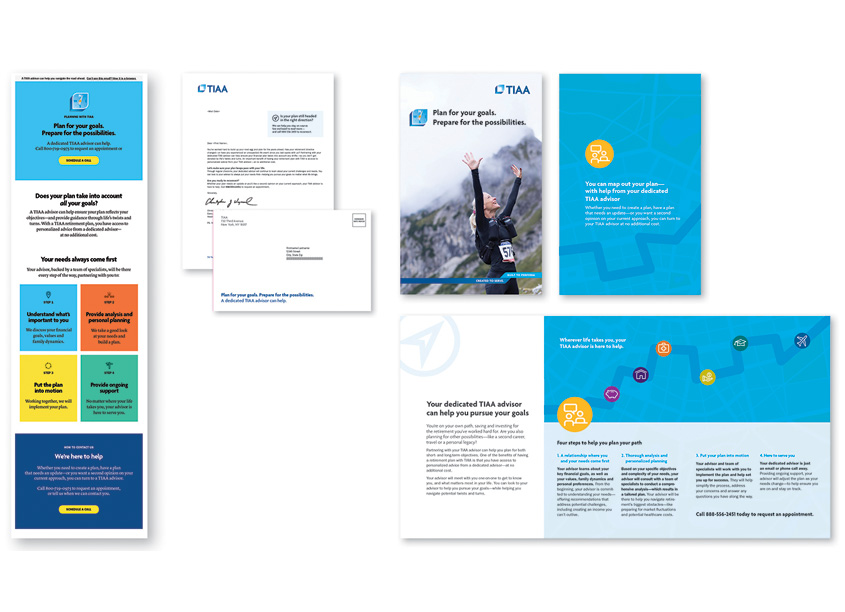 TIAA Lead Generation Direct Mail Campaign by TIAA