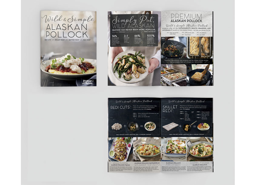 Wild & Simple Brochure by Trident Seafoods