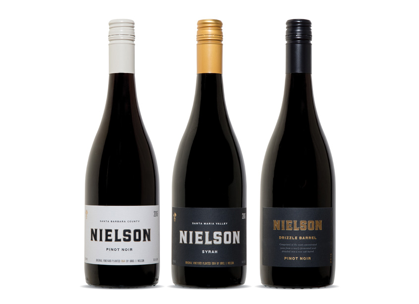 Jackson Family Wines Nielson Wines Package Redesign
