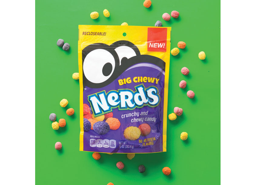 Nestlé USA/ICON Creative Agency Big Chewy Nerds Packaging