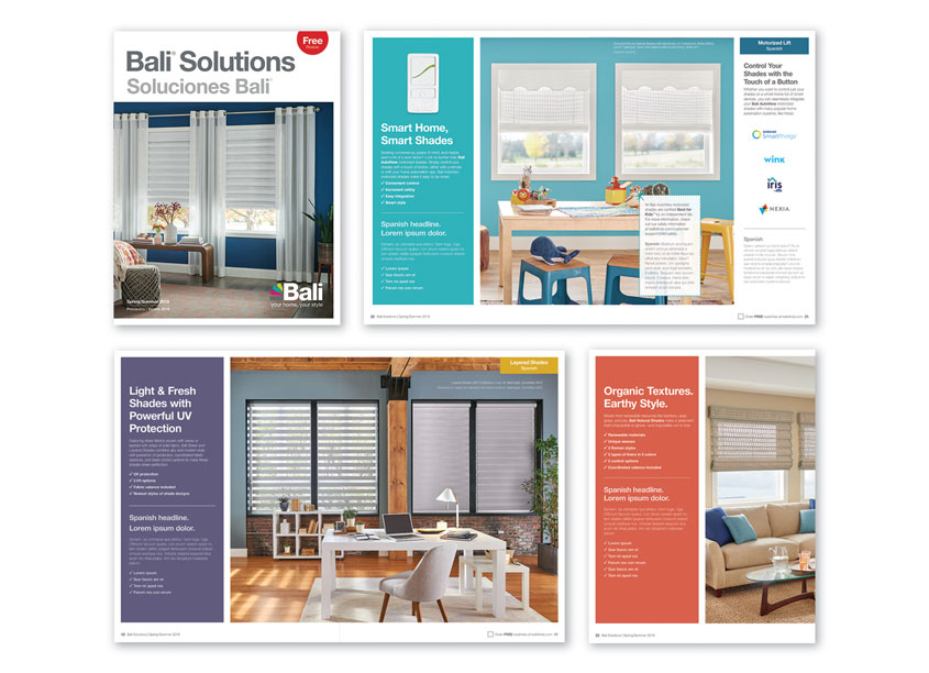 Bali Solutions Brochure by Springs Window Fashions