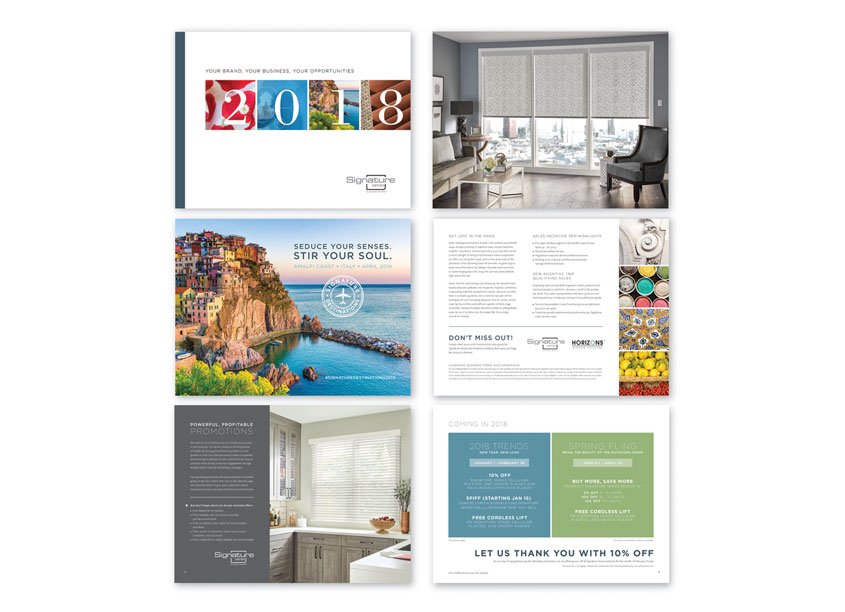 Signature Series Convention Brochure by Springs Window Fashions
