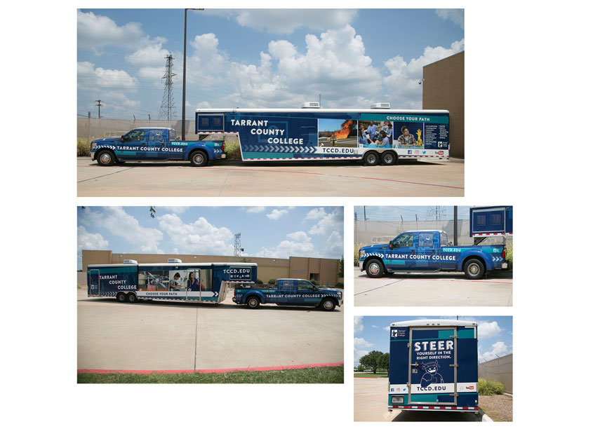 Tarrant County College District TCC Mobile Go Center