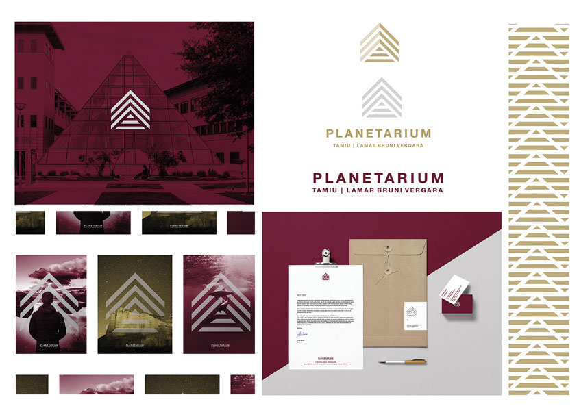 Lamar Bruni Vergara Planetarium Branding by Texas A&M International University