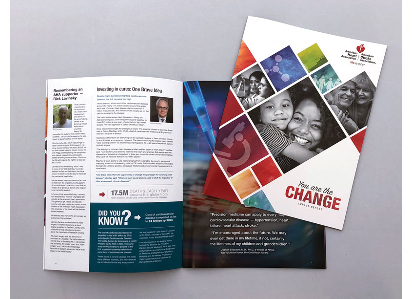 American Heart Association You Are the Change Impact Report