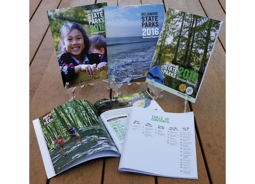 Delaware State Parks Delaware State Parks 2016 Annual Report