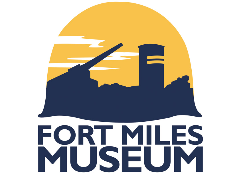 Fort Miles Museum Logo Design by Delaware State Parks