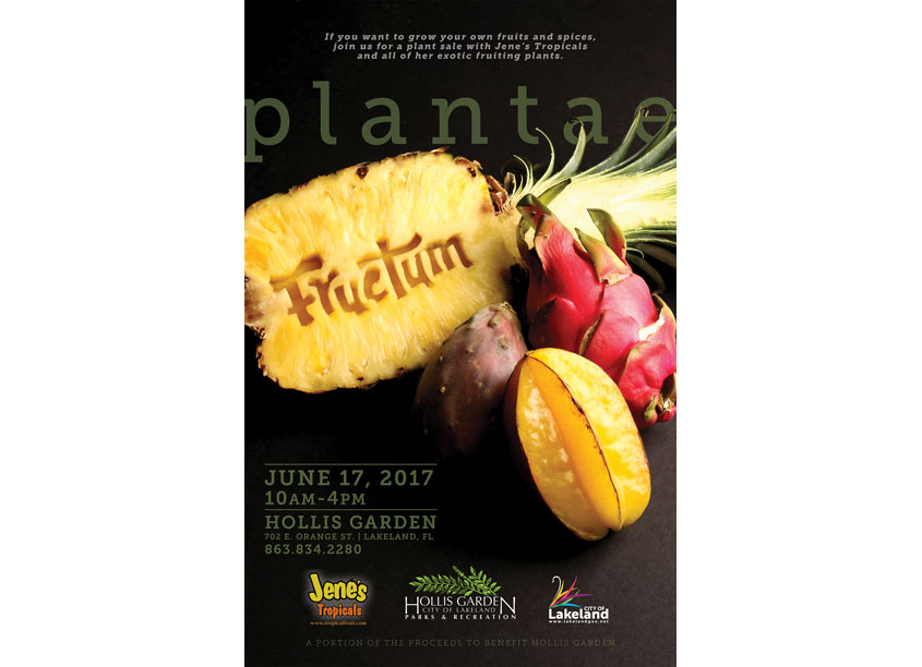 City of Lakeland 2017 Plantae Fructum Poster