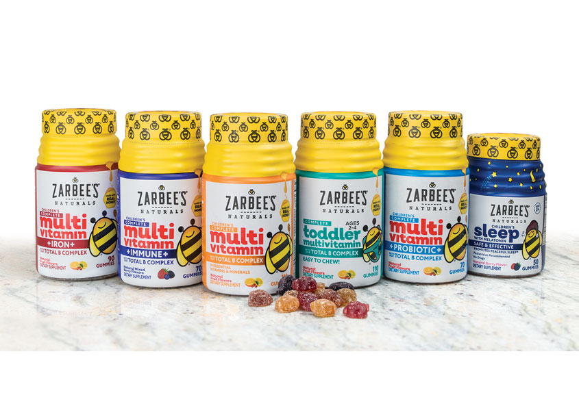 Zarbee's Naturals Kid's Vitamins Packaging