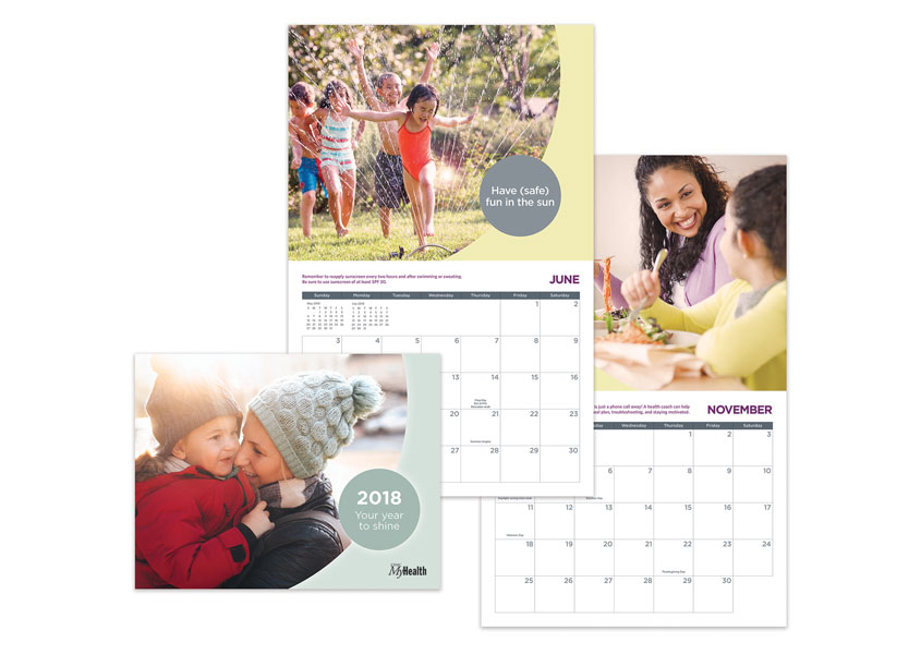 UPMC Health Plan 2018 Wellness Calendar by UPMC Health Plan