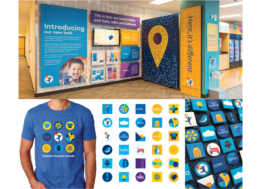 Internal Communications Brand Refresh Internal Launch by Children's Hospital Colorado