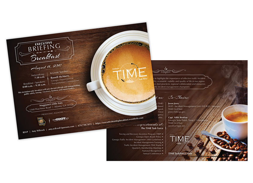 TIME Executive Briefing Breakfast Invite by Parsons