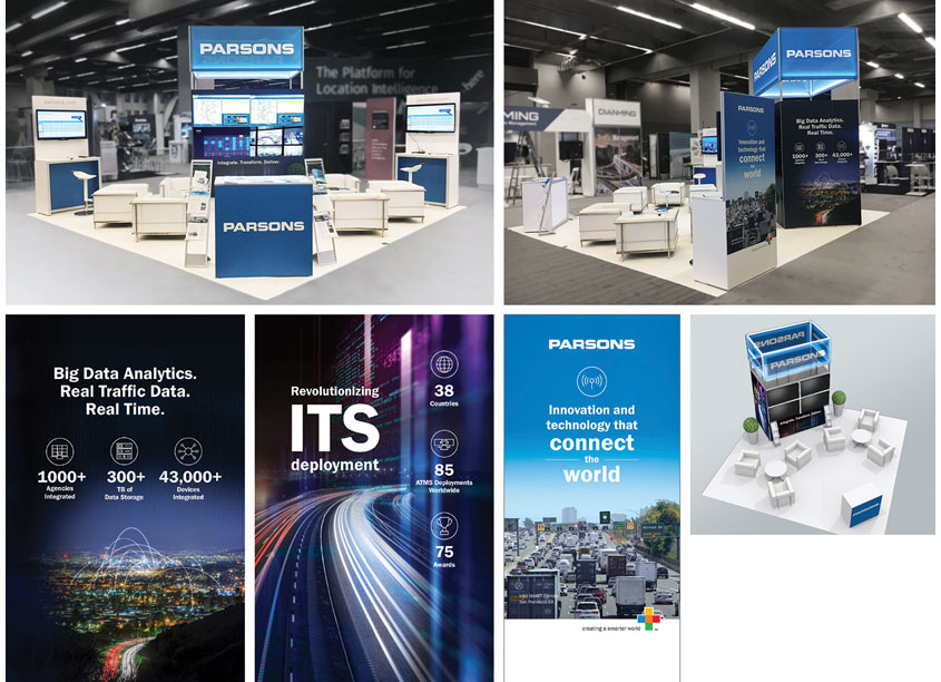 Parsons ITS World Congress 2017 Tradeshow Booth by Parsons