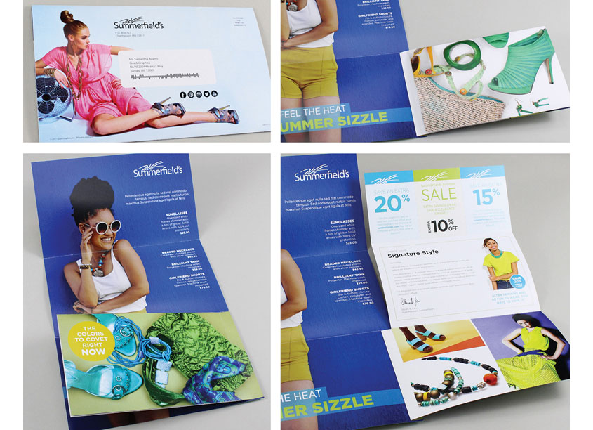 Multi-Directional Retail Mailer by Quad/Graphics