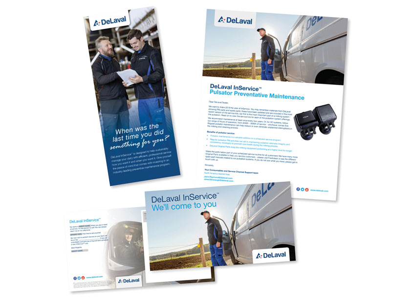 InService Relaunch by DeLaval Inc.