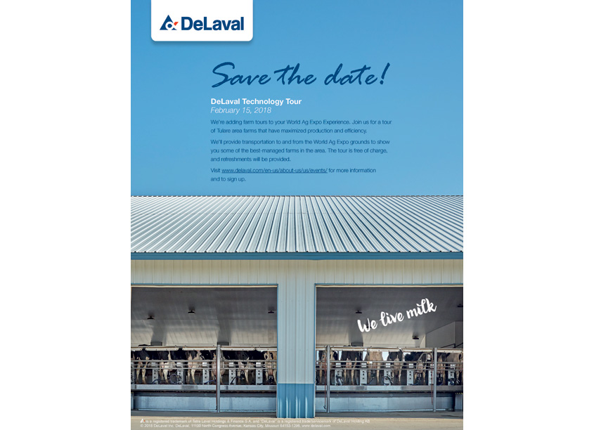 DeLaval Technology Tour Invitation by DeLaval Inc.
