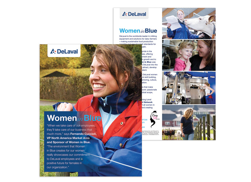 Women in Blue Sell Sheet by DeLaval Inc.