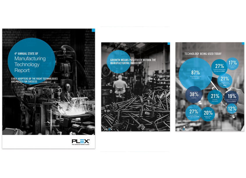 4th Annual State of Manufacturing Report by Plex Systems