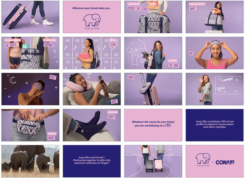 Ivory Ella X Conair Launch Video for Target.com by Conair Corporation - Creative Services