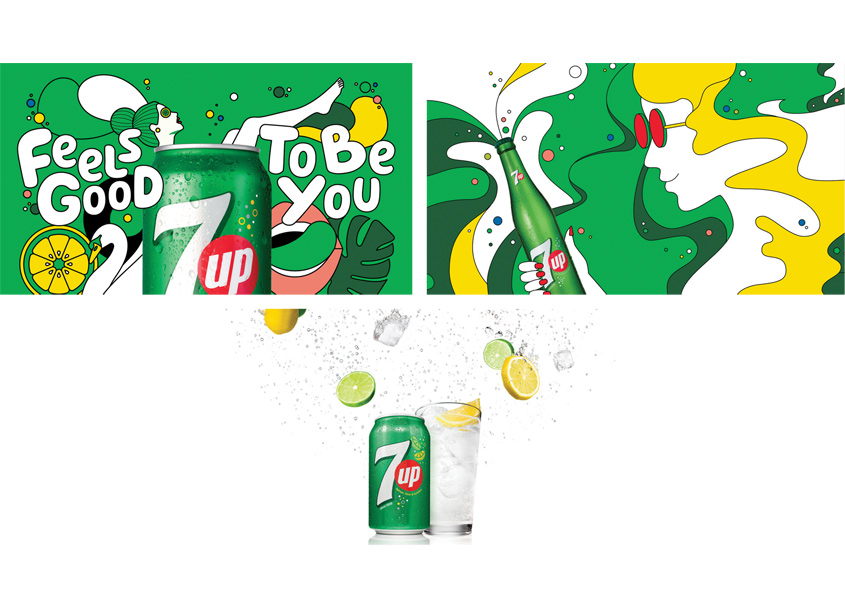 PepsiCo Design & Innovation 7UP Global Brand Refresh