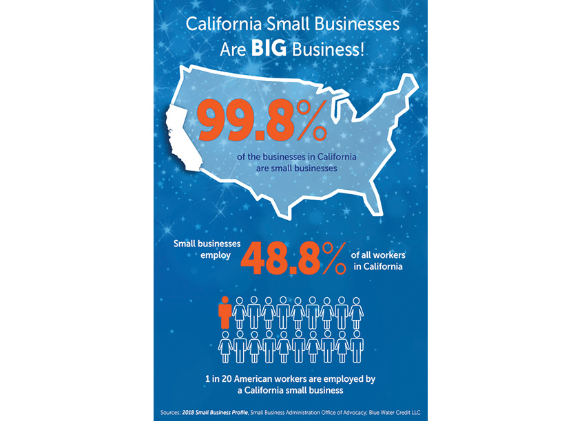 National Small Business Week Infographic by The Word & Brown Companies