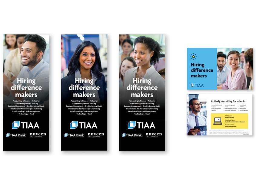 TIAA HR Recruitment Support Poster