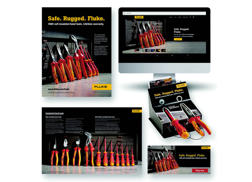 Fluke Insulated Hand Tools Campaign by Fluke Corporation