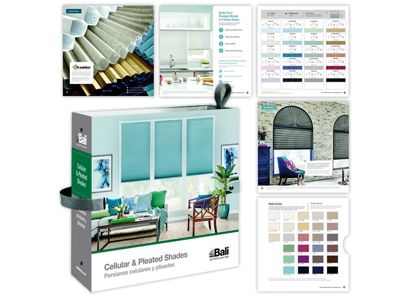 Bali Cellular and Pleated Sample Book by Springs Window Fashions - Integrated Marketing