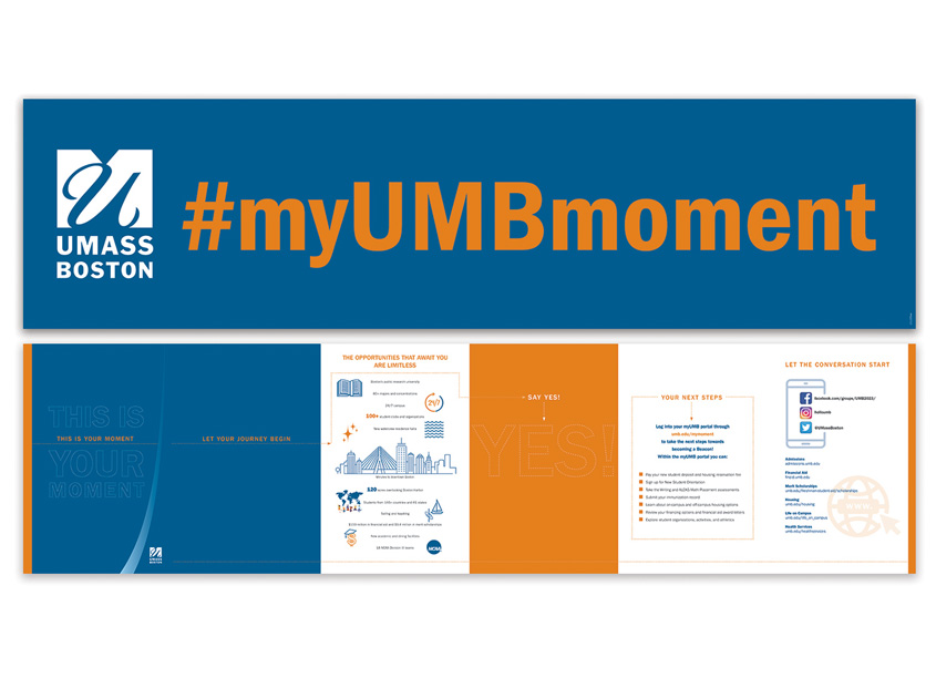 This Is Your Moment Brochure by University of Massachusetts Boston