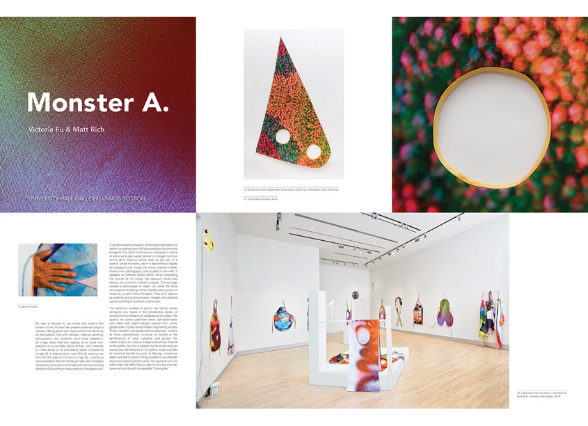 Monster A. Gallery Exhibit Catalog by University of Massachusetts Boston