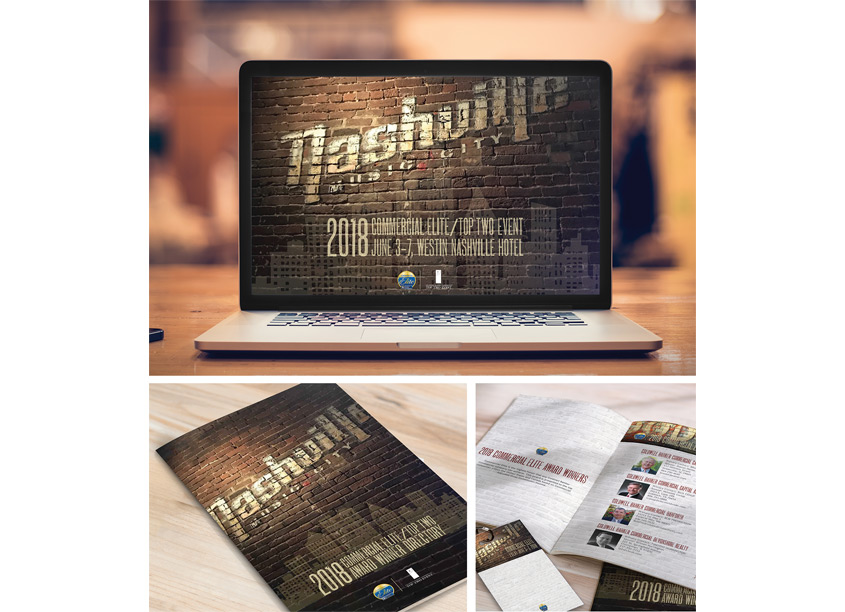 Realogy Visual Communications Coldwell Banker Commercial Elite/Top Two Event Collateral