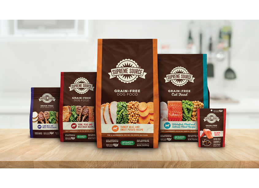American Pet Nutrition Supreme Source Package Redesign